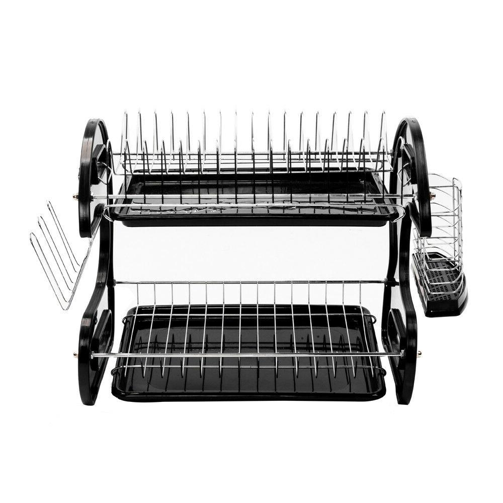 Kitchen Tier Rack Drying Storage Shelf