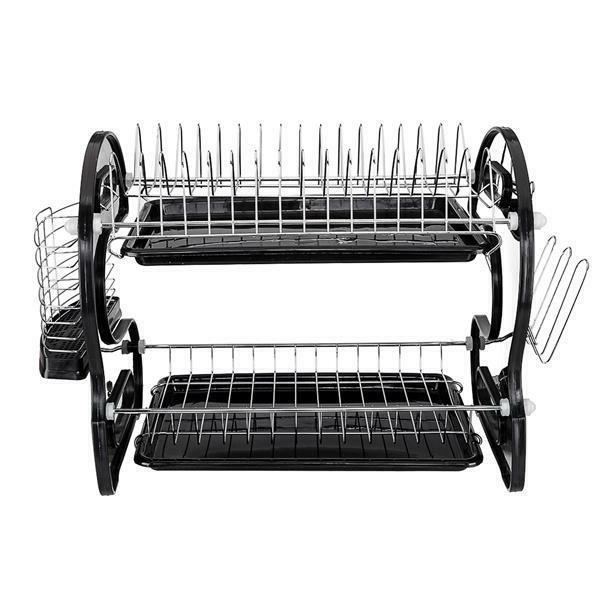 Kitchen Dish Cup Holder Drainer Dryer