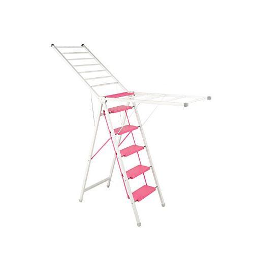 ladder drying rack dual folding