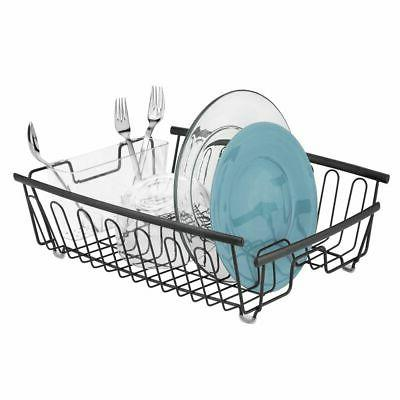 mDesign Large Rack Drainboard with Swivel Spout