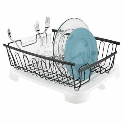 large dish drying rack and drainboard