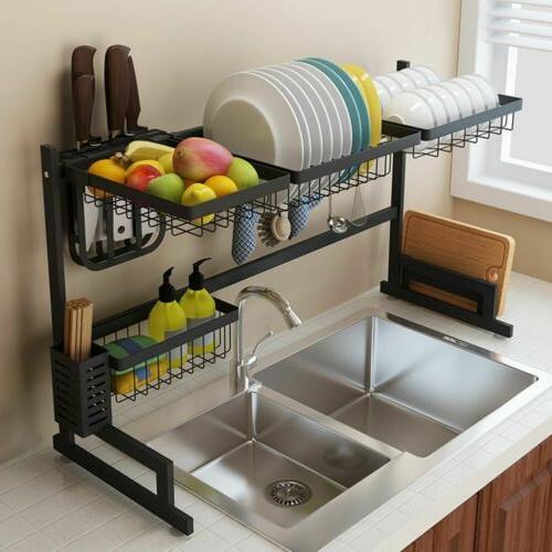 Dish Sink Shelf Kitchen Storage