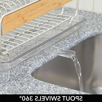 mDesign Large Counter Swivel Spout