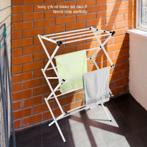 Laundry Drying Rack Hanger In/Outdoor