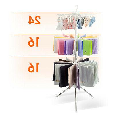 3 Laundry Folding Drying Rack Clothes