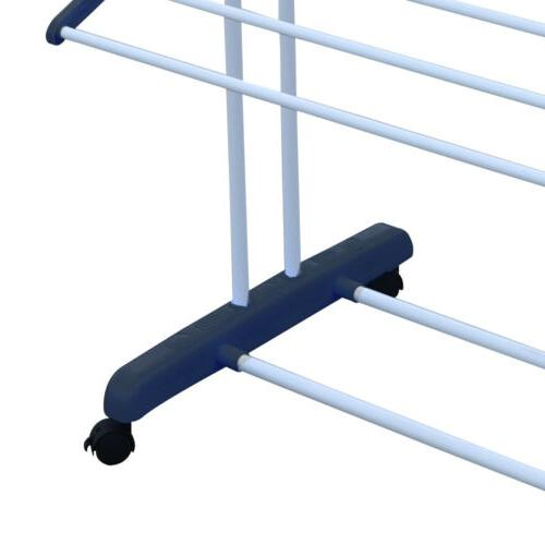 3 Tier Laundry Rack Clothes Airer Horse Heavy Duty