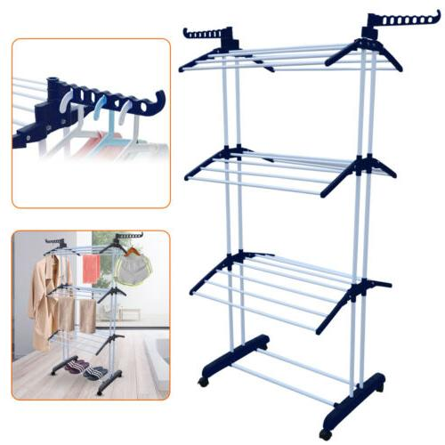 3 tier laundry drying rack clothes airer
