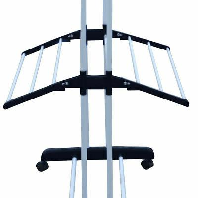 3 Tier iron Laundry Organizer Drying Clothes Dryer Stand NEW