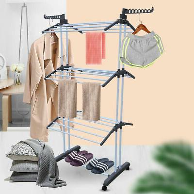 3 Tier iron Organizer Folding Clothes NEW