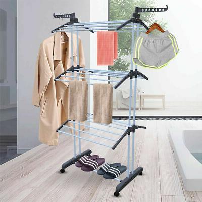 3 Organizer Folding Clothes Dryer NEW