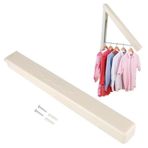 Laundry Drying Rack Indoor Wall-mount Folding Clothes