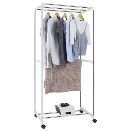 Laundry Organizer Drying Rack Dryer Hanger Rack Apartment