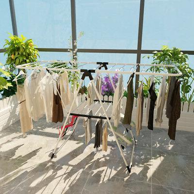 Laundry Rack Portable Dryer Hanger