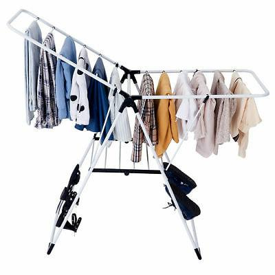 Folding Drying Rack Portable Laundry Room Clothes Storage Ha