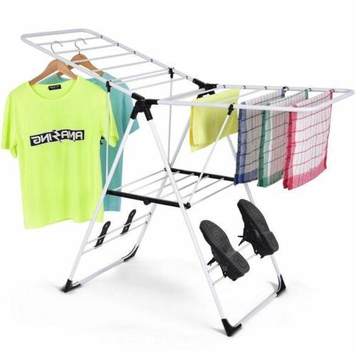 laundry storage drying rack portable