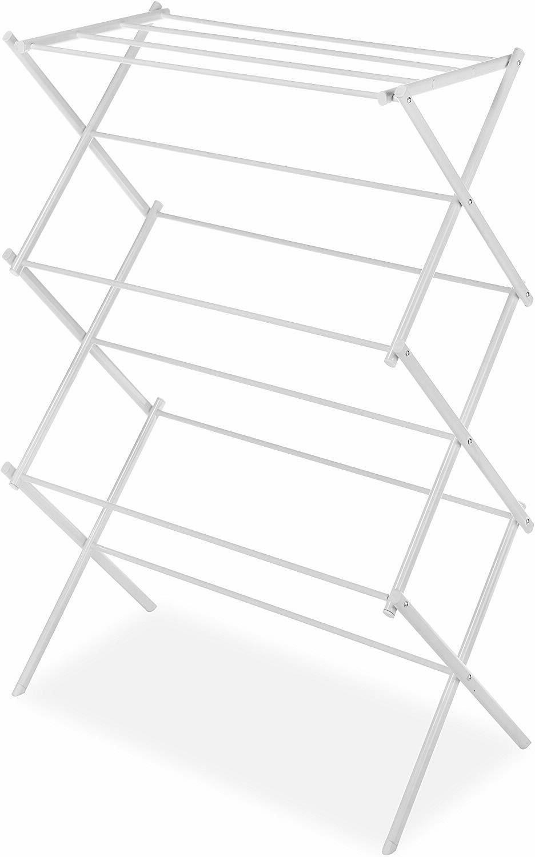 lightweight steel foldable drying rack 11 hanging
