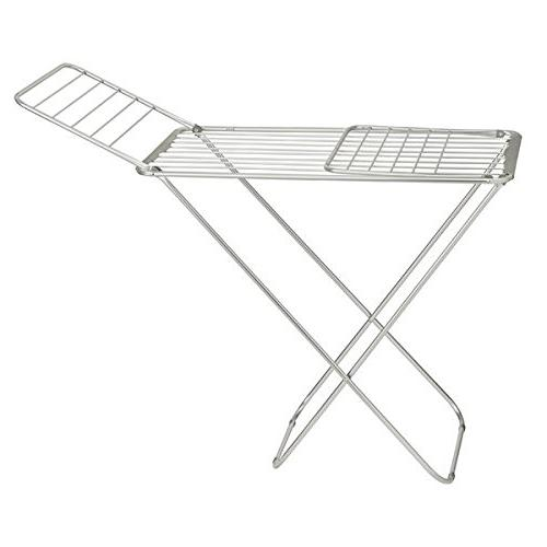 """mDesign Drying Clothes Drying Accordion Drying Up 68.3"""" Folding Rack Laundry -"""