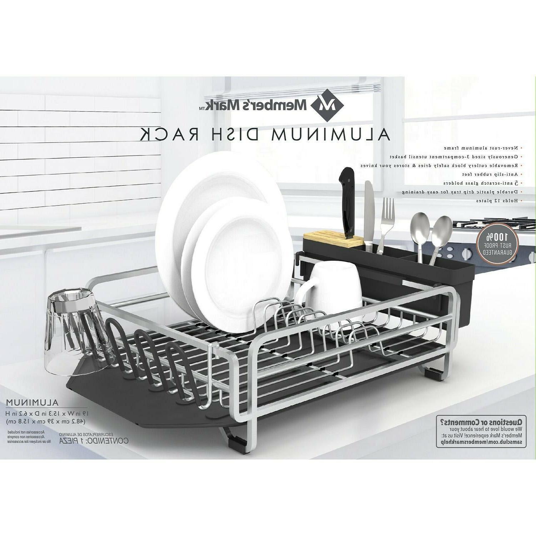 Aluminum Rust Dish Drying Rack for
