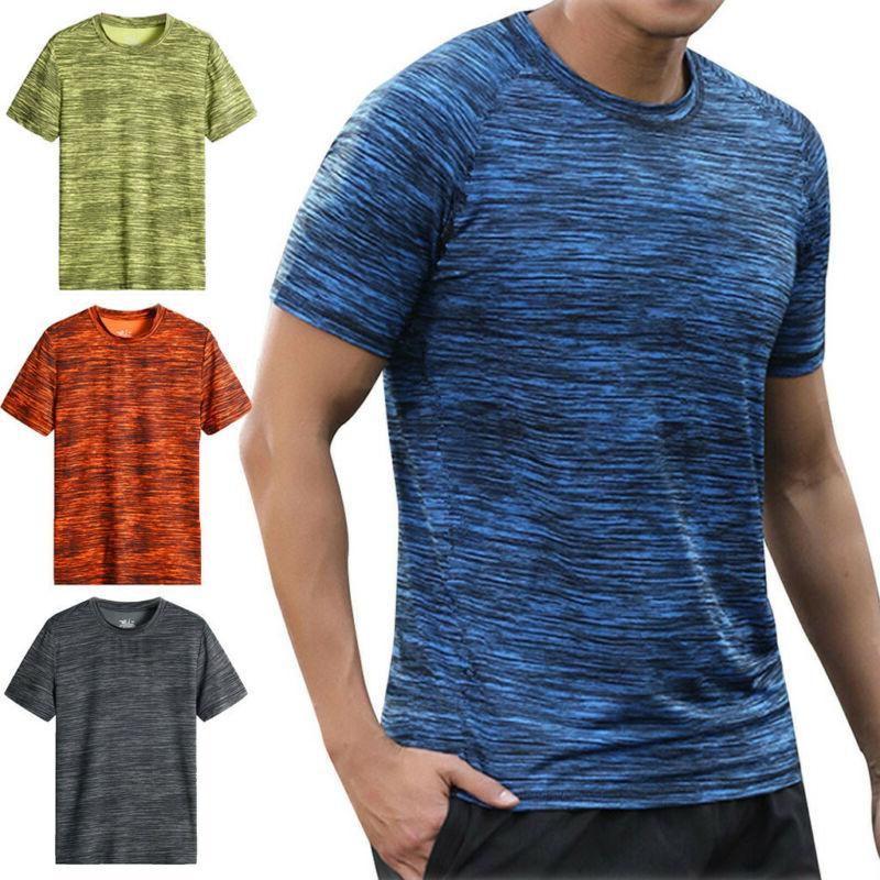 men summer casual short sleeve t shirt