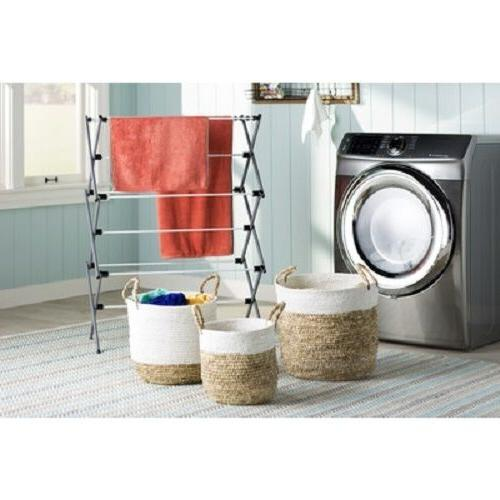 Metal Home Cleaning Dorm Laundry Towels