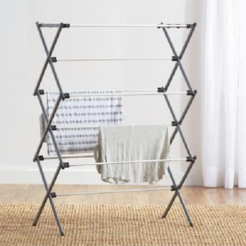 metal multi tiered drying rack home living