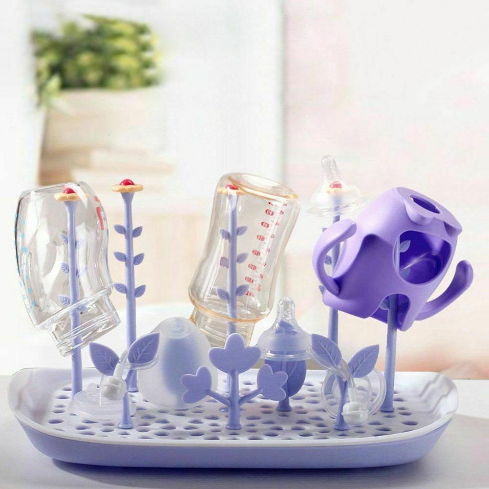 Milk Bottle Drying Racks Storage Organizer Baby Accessories