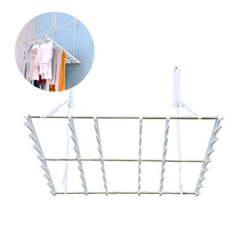 multifunctional wall folding drying rack