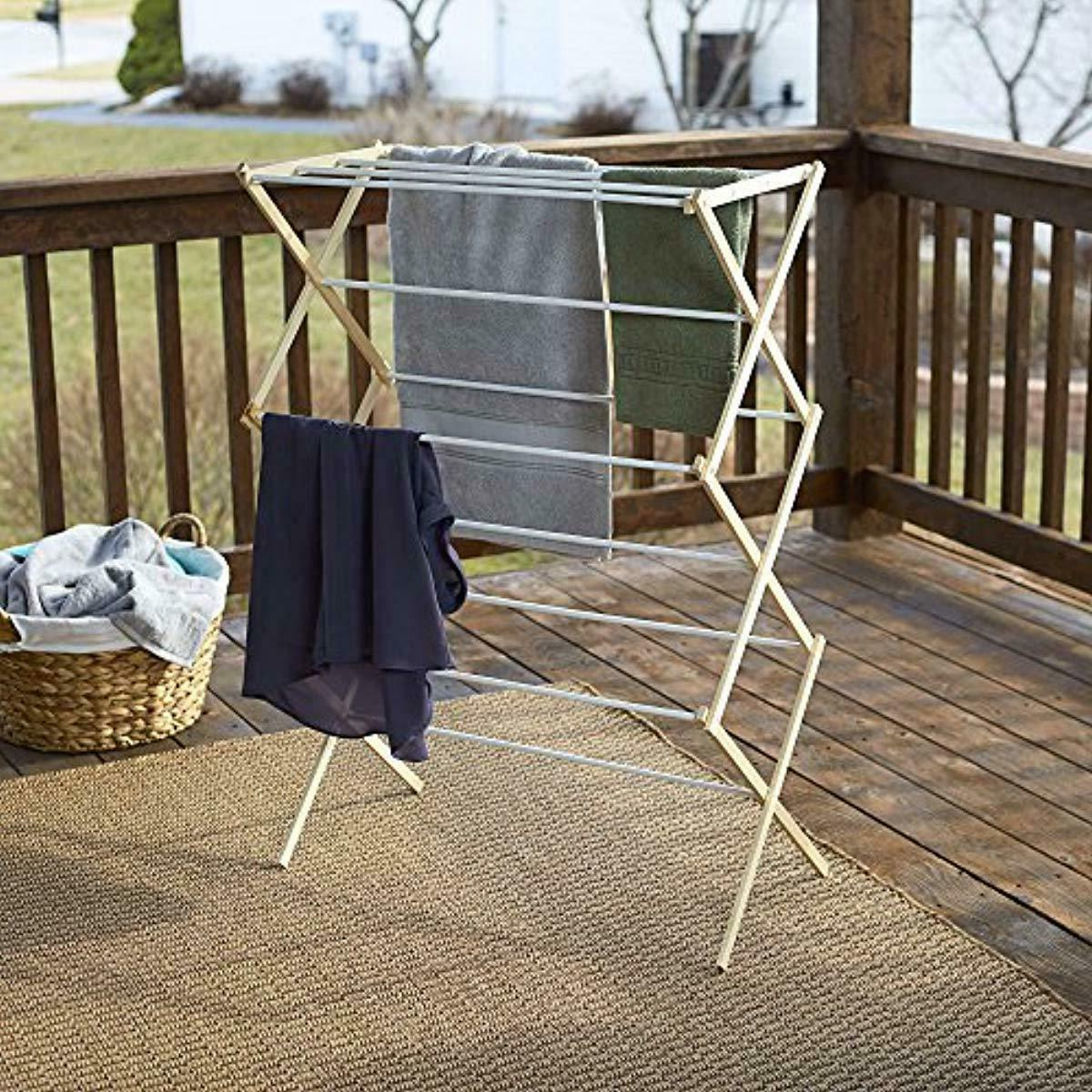 Household Folding Clothes Rack for