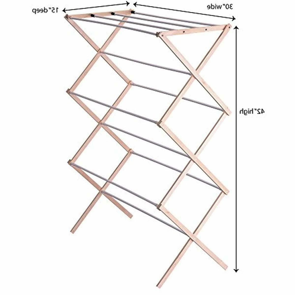 Household Essentials Folding Drying Rack for