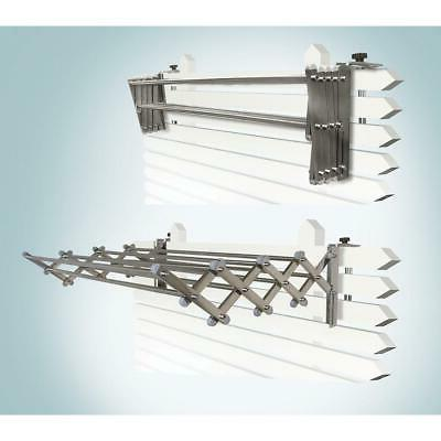 GreenWay GCL31AL Indoor/Outdoor Foldable Drying Rack, with O