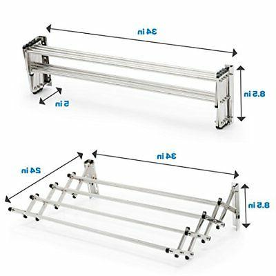 NEW Aero-W Stainless Steel Folding Capacity 22.5 Linear