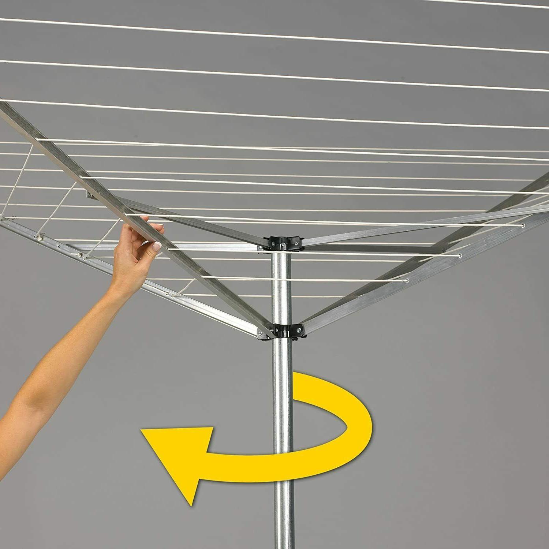 Outdoor Clothesline Dryer Umbrella Hanger Lightweight
