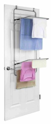 Sunbeam NEW Over The Door Folding Double Drying Towel Dryer