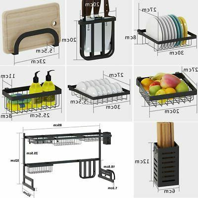 Over Sink Dish Drying Steel