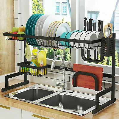 Over Drying Rack Drainer Stainless Steel Kitchen USA