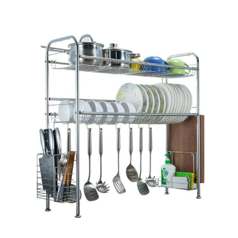 Dish Drainer Rack Over Drainer Kitchen US