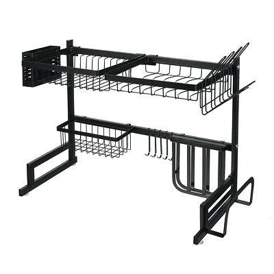 Over The Sink Drying Rack Steel Kitchen Holder 85cm