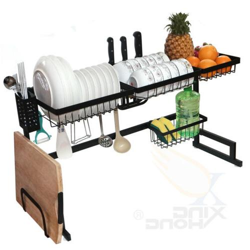 Over The Drying Rack Kitchen Cutlery Shelf 85CM