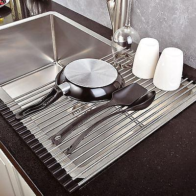 OVER SINK DISH DRAINER ROLL-UP FOLDINNG