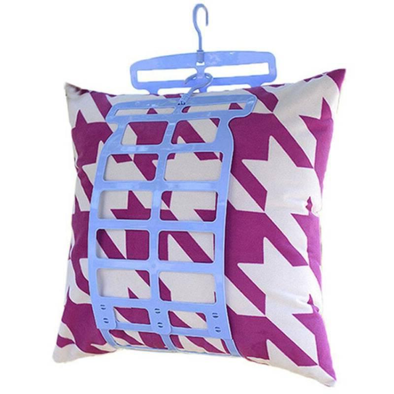 pillow hanging cushion multifunction drying rack laundry