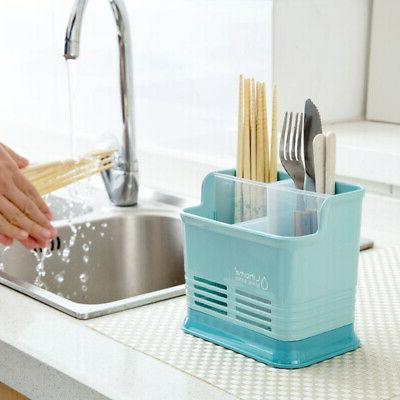 Plastic Kitchen Utensil Rack Holder Sink Rack