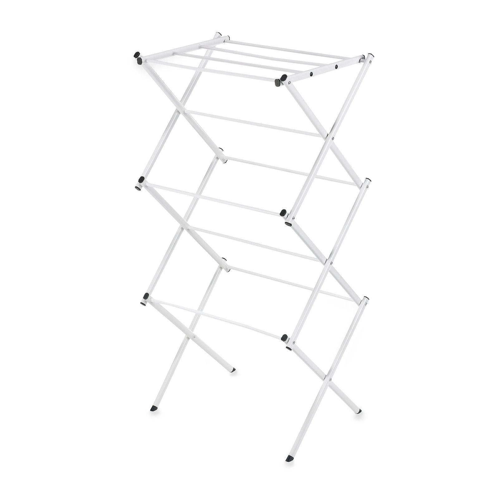 Polder Compact Accordion Dryer Rack in White