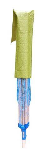 Minky Polypropylene Rotary Airer and Parasol Cover - Green b