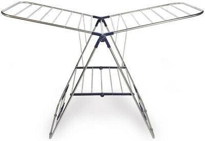 portable folding clothesline laundry dryer