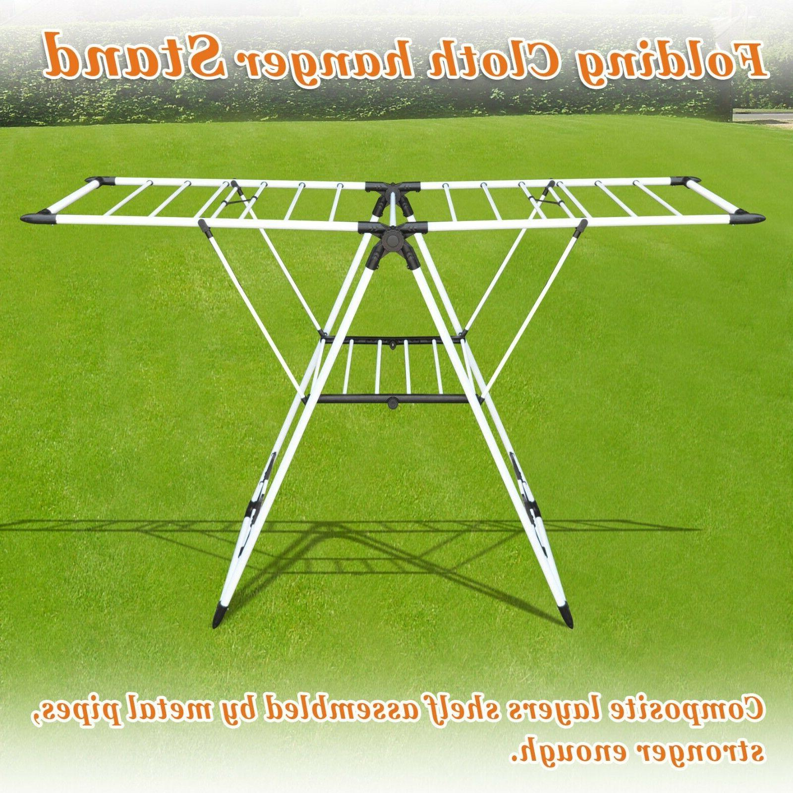 Portable Folding Drying Laundry Stand
