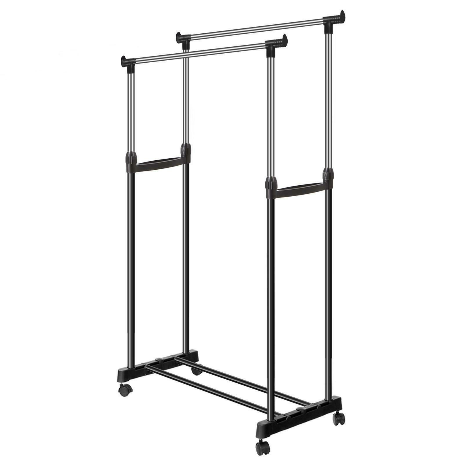 Heavy Rack Clothes Drying Display Rail