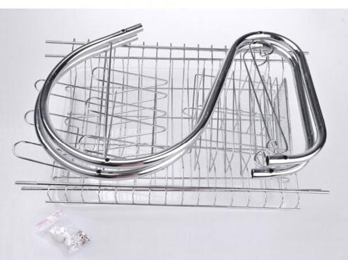 Practical Storage Cup Twin-layer Dryer Drying Rack