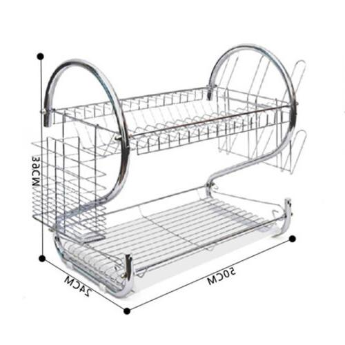 Practical Dish Cup Rack Holder