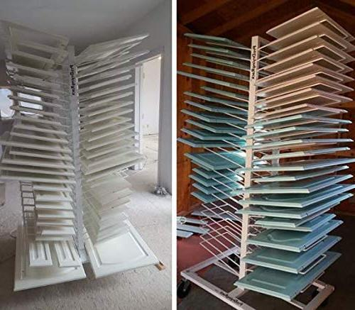 Easily Up to 50 Newly Painted Doors Our Drying Rack for Painters, & Cabinet Makers.