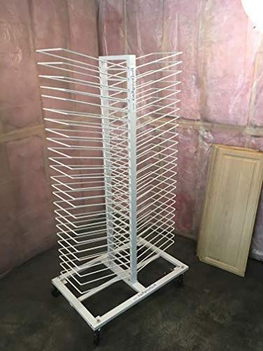 Easily Dry Up 50 Newly Painted Doors with Amazing Drying Rack Perfect for & Cabinet Makers.